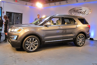 2017 Ford Explorer Redesign