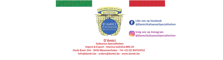 D'AMICI ITALIAANSE SPECIALITEITEN