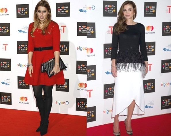 Queen Rania And Princess Beatrice Attended The Women In The World Summit