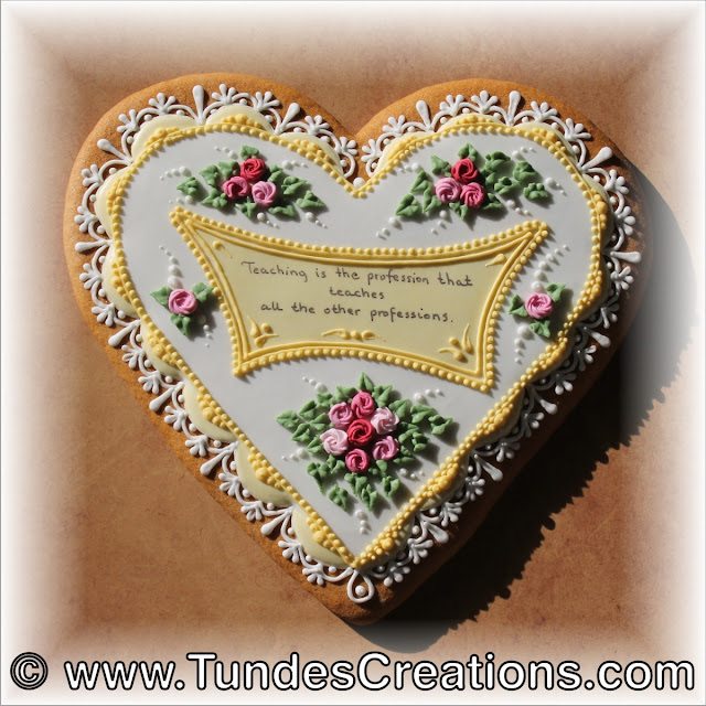 Gingerbread heart teacher gift by Tunde Dugantsi