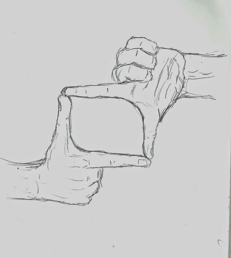 Desenho de dedos
