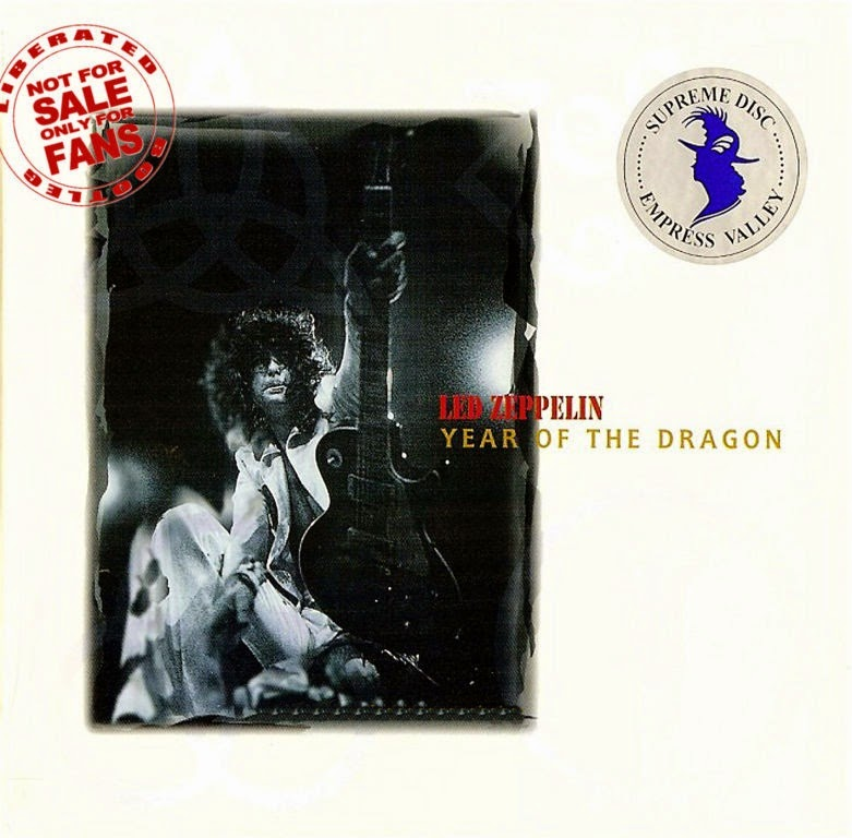 1977 - Led Zeppelin - Year of the Dragon - Seattle - Bootleg