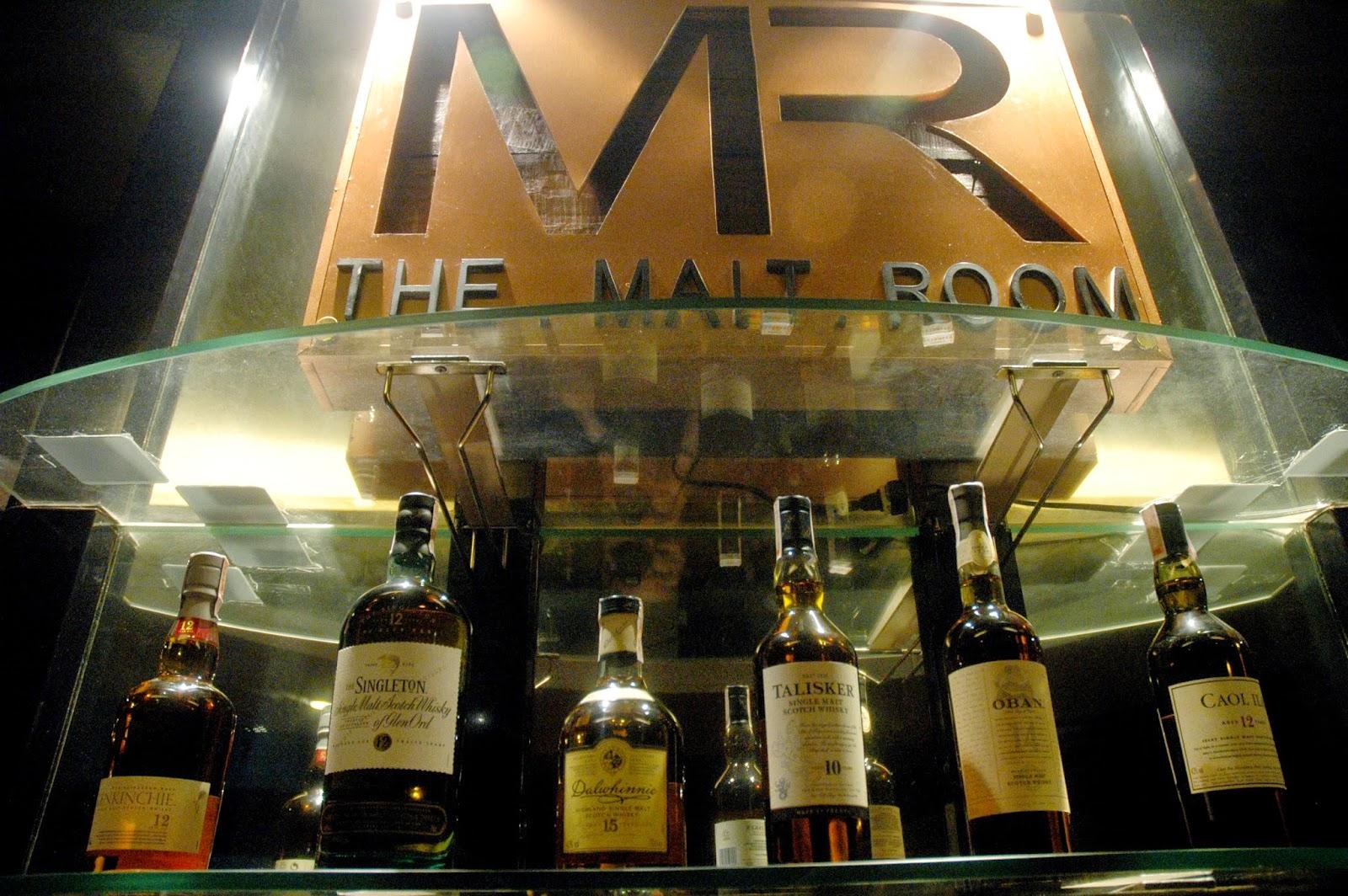 Malt Room Quezon City Menu