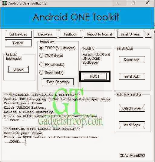 root karbonn sparkle v on locked bootloader
