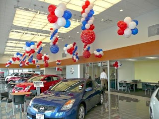 balon lampion dealer mobil
