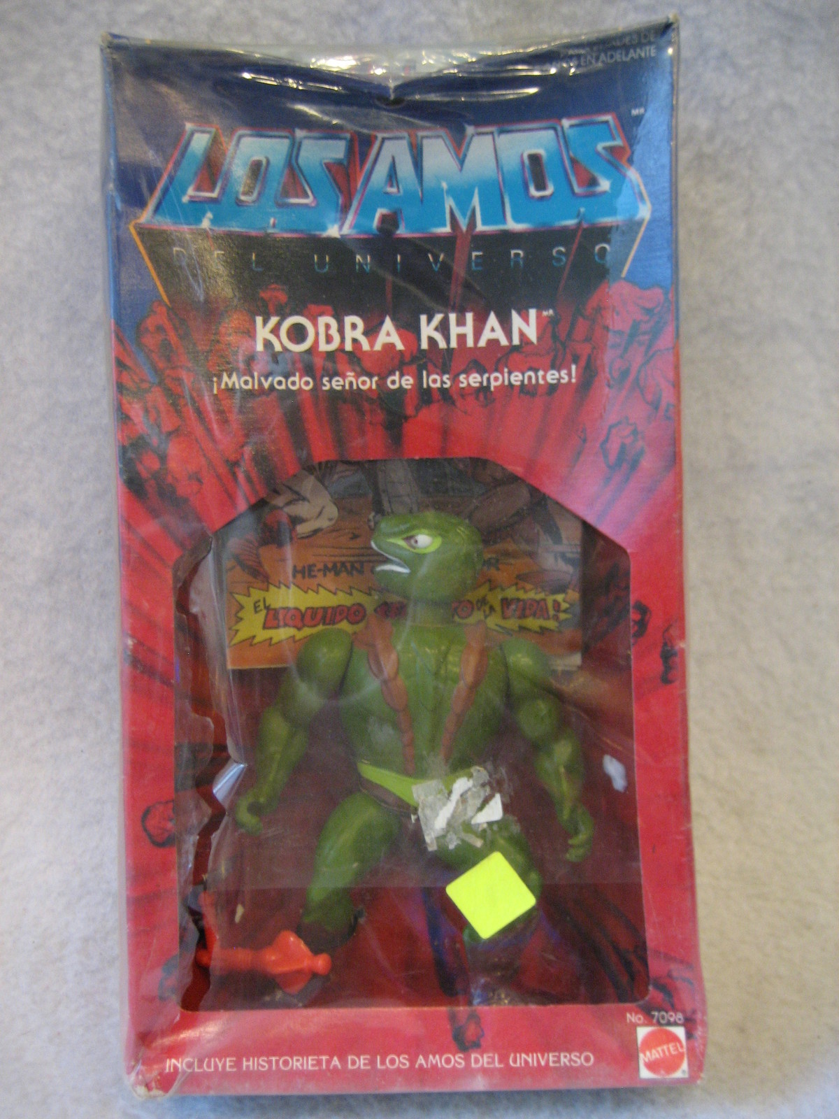 Masters Of The Universe Argentina Kobra Khan