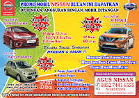 SEPTEMBER CERIA showroom Nissan Datsun Pekanbaru, Riau