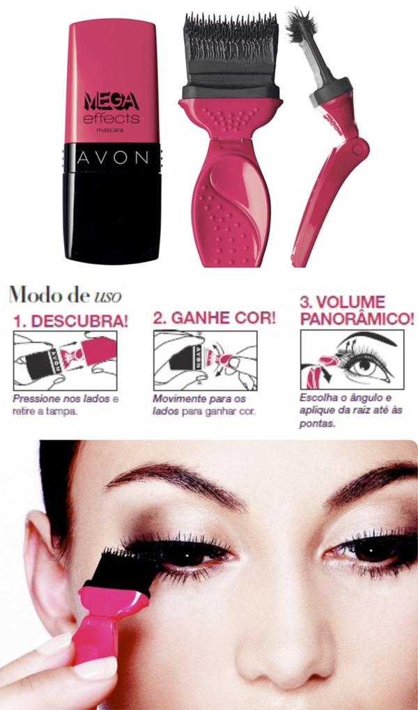 Mega Effects Mascara da AVON blog Mamãe de Salto ==> imagens retiradas da internet