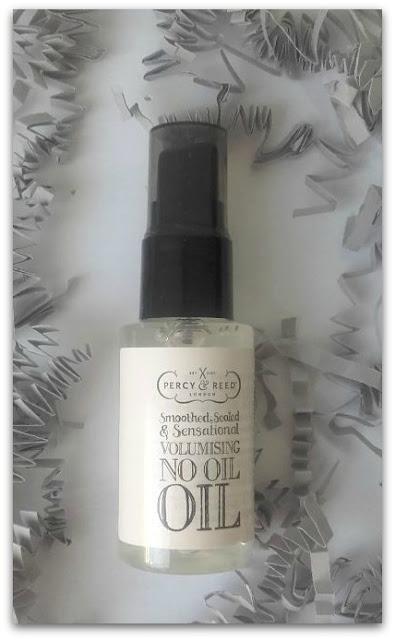 Aceite alisante para cabello fino y graso Percy & Reed