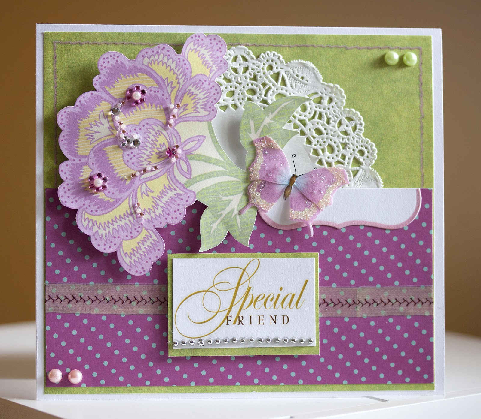 Paper Fun: Special Friend And Birthday Cards