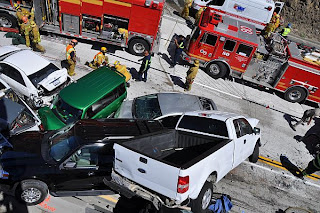 Los Angeles Traffic Accident | Car Accident