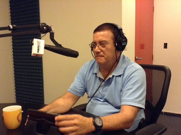 Entrevista  radio 105 FM