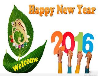 Kartu Ucapan Happy new year 2016 selamat tahun 2016 9