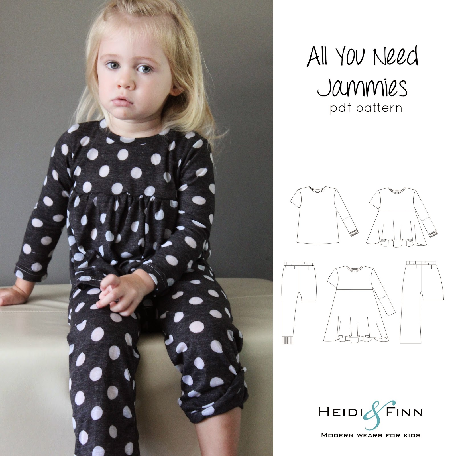 Heidiandfinn modern wears for kids all you need jammies tester thursday september 11 2014 jeuxipadfo Choice Image