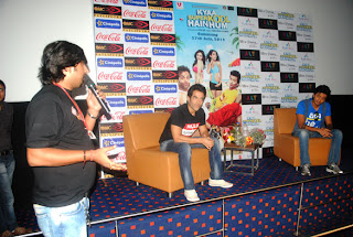 Riteish & Tusshar @ 'Kyaa Super Kool Hain Hum' Promotion at Patna