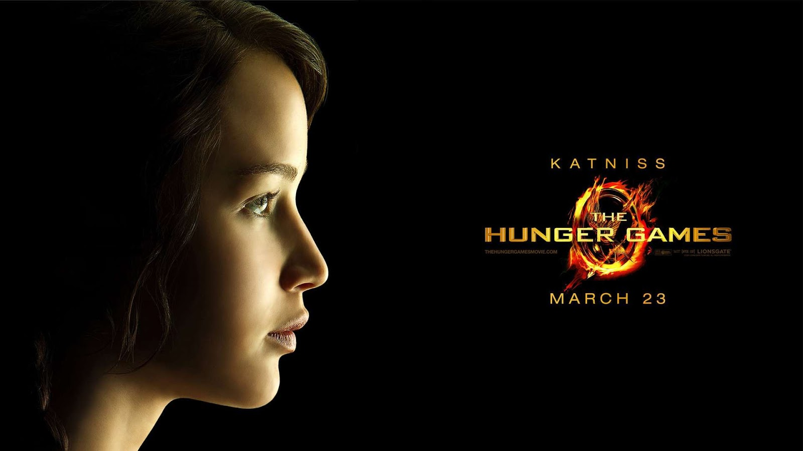 the hunger games katniss mystery wallpaper. Black Bedroom Furniture Sets. Home Design Ideas