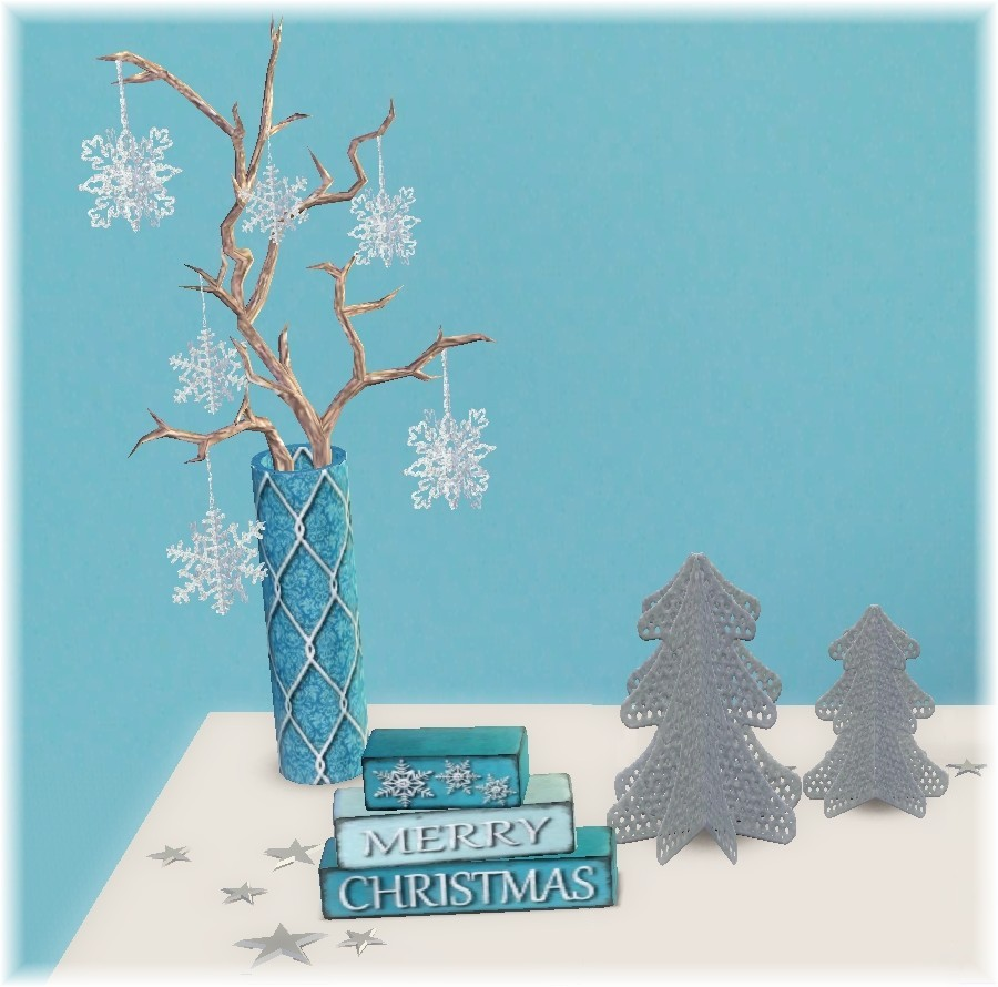 Christmas Decorations On Sims 3: My Sims 3 Blog: Christmas Decor Set By Suza