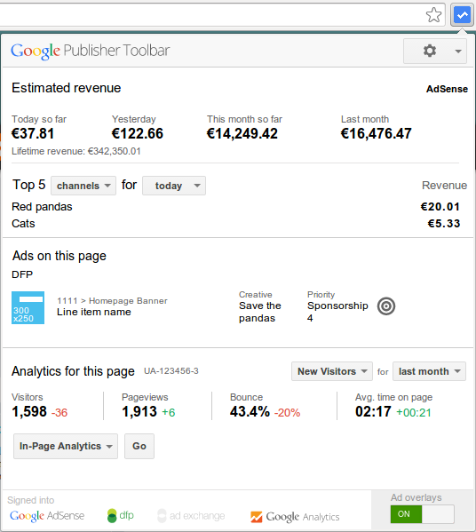 download Get twice the insights with new Google Analytics integration in the Google Publisher Toolbar