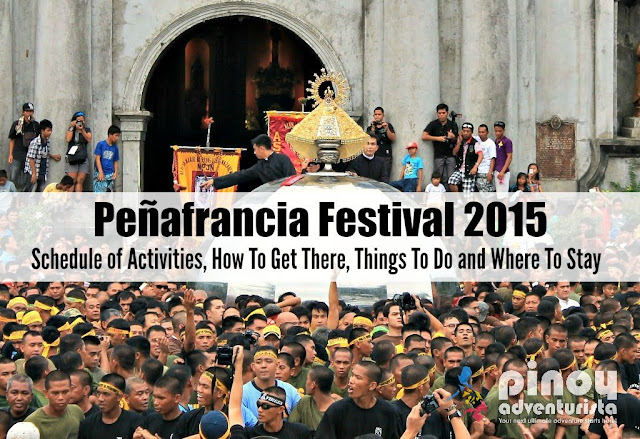 Peñafrancia Festival 2015 Schedule