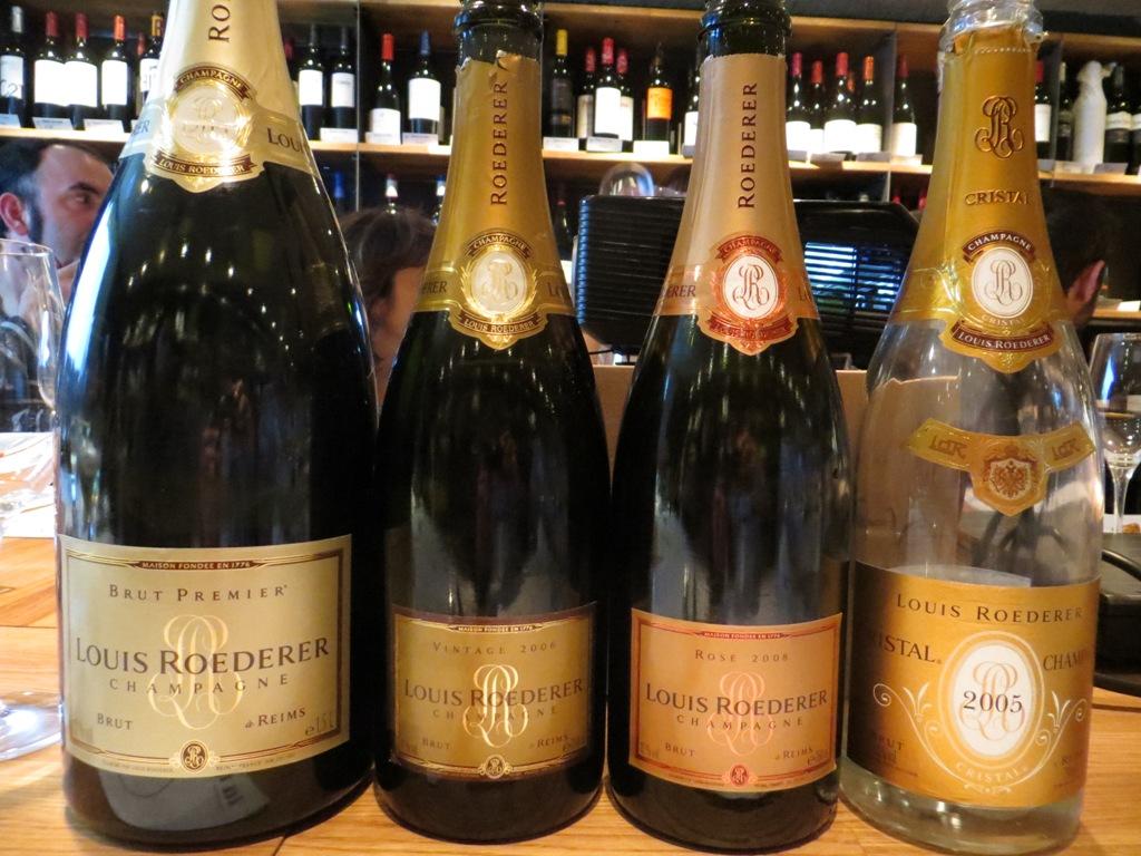 Urbina vinos blog cata de louis roederer champagne brut premier vintage ros cristal - Cristal climalit precio ...
