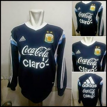 Sweater GO Argentina Biru Dongker