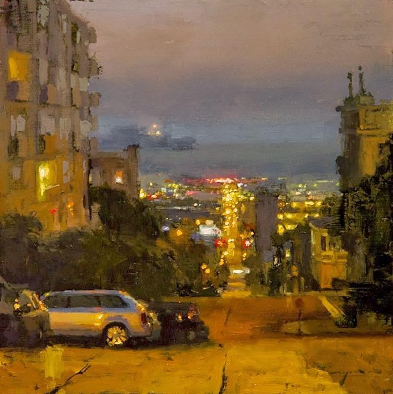 Jeremy Mann Jeremy+Mann+1979+-+American+Impressionist+painter+-Maher+Art+Gallery19
