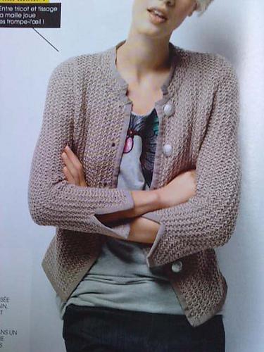 Une veste (style) Chanel revisitée !  La p'tite goule