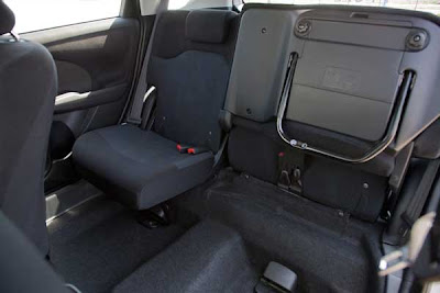 2011 Honda Fit Sport's Magic Seats - Subcompact Culture