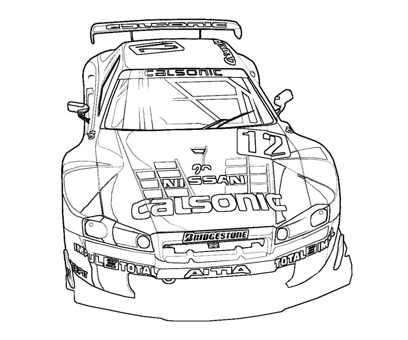 fast and furious 1jpg - Fast Furious Coloring Pages