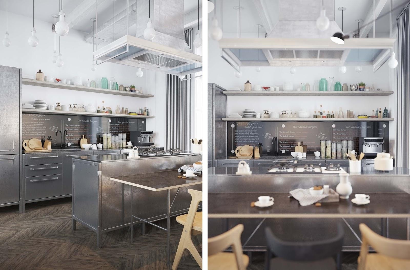 Appartamento stile industriale lr23 regardsdefemmes for Appartamento design industriale