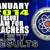 Board Exam: List of Passers January 2014 LET Secondary (A-G)