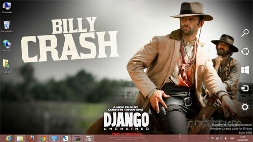 Django Unchained Theme For Windows 7 And 8