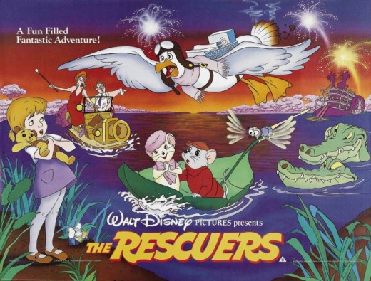 Review: The Rescuers (1977) ~ The Fangirl Initiative