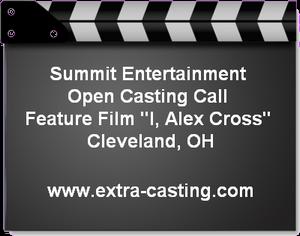 I Alex Cross Open Casting Call