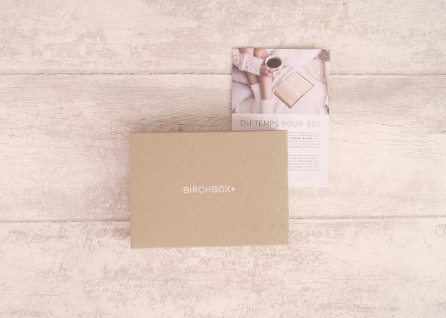 Birchbox Novembre 2014... Du temps pour soi