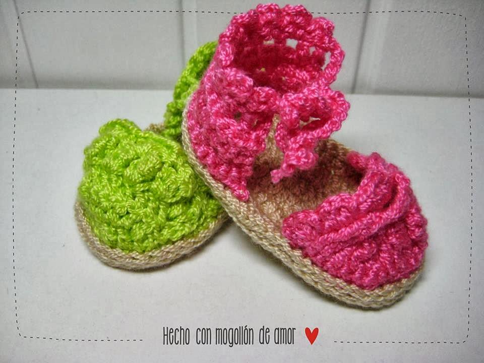 Alpargatas de Crochet