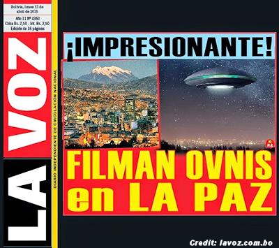 UFOs Over La Paz? | Bolivia