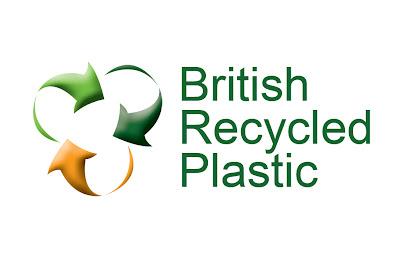 british recycled plastic logo