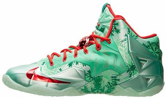 "Lebron 11 Christmas Green ... LeBron 11 ""Ch..."
