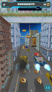 Screenshots of the Mad taxi for Android tablet, phone.