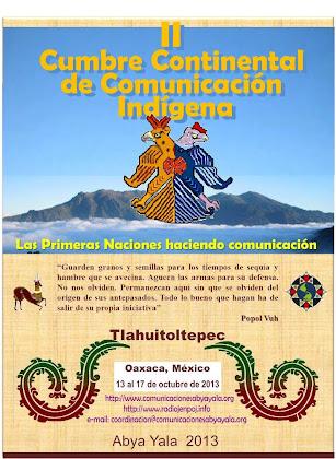 Las Primeras Naciones haciendo comunicación