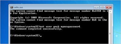 أفضل طريقة لتغيير كلمة السر الخاصة بالوندوز نسيانها فقدتها, 2013 image5.png