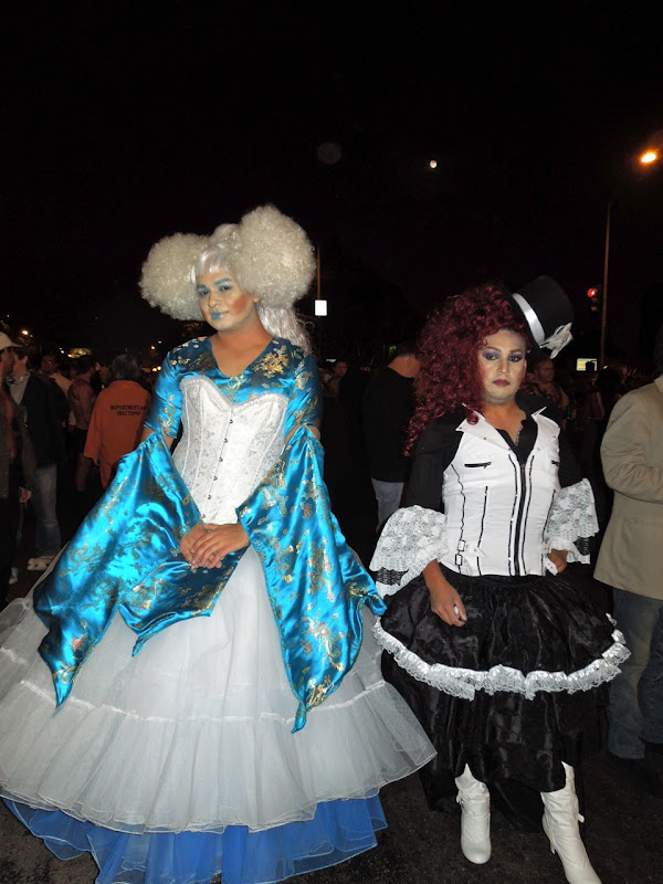 West Hollywood Halloween Carnaval drag costumes