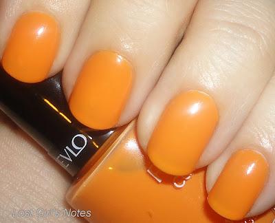 revlon sorbet nail polish swatch