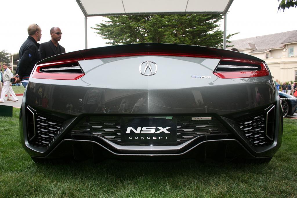Acura NSX II, japoński supercar, supersamochód, sportowy samochód, motoryzacja, agresywny, piękny, design, V6, hybryda, AWD