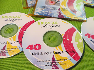 40 Melt and Pour Soap Making Projects CD