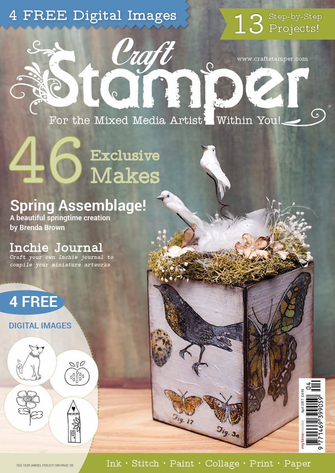 Published in Craft Stamper April 2017