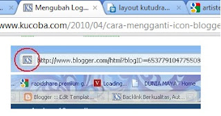 New Features Add Favicon at Blogger Design