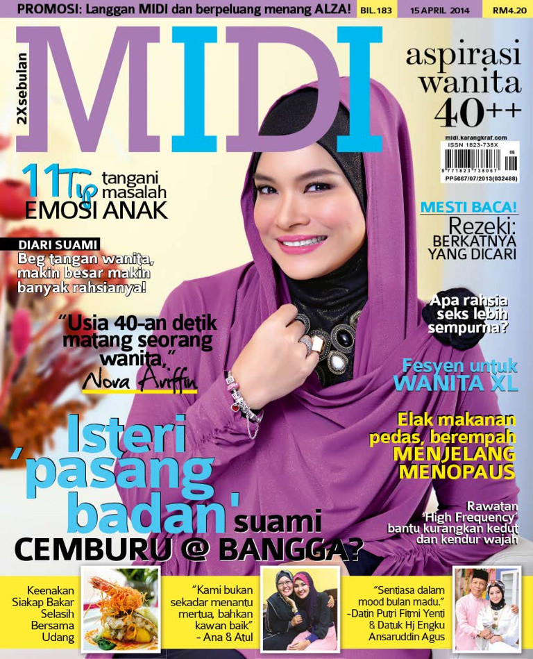 Majalah MIDI April 2014