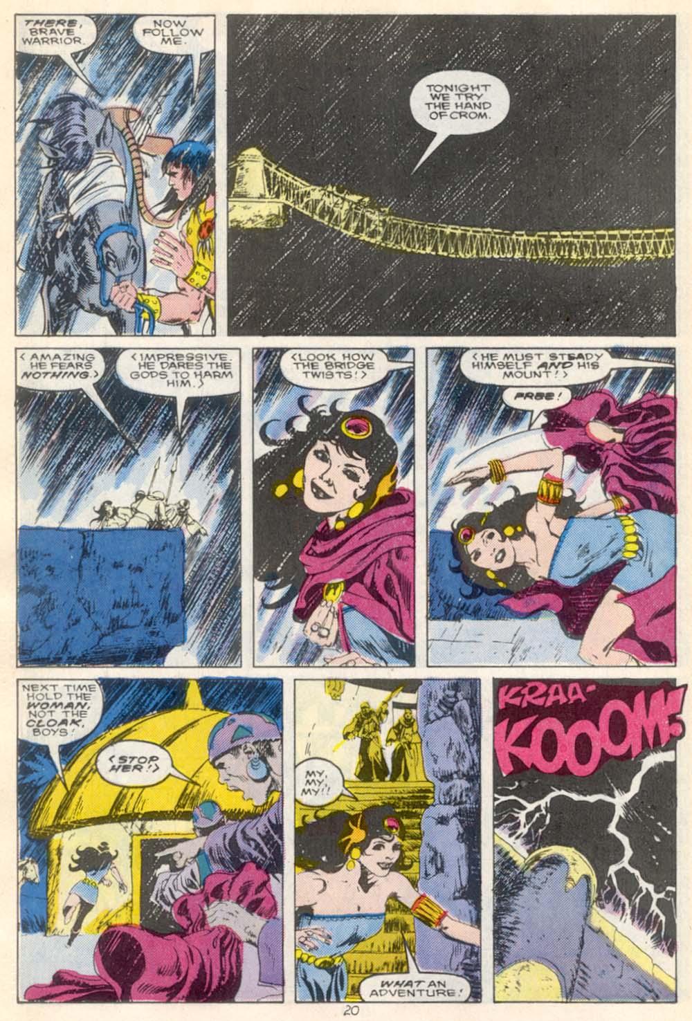 Conan the Barbarian (1970) Issue #210 #222 - English 17